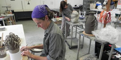Ceramic Sculpture: Expressive Vessels, Forms, and Environments (Wednesdays, Oct 30-Dec 11)