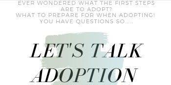 Let's Talk Adoption!!!