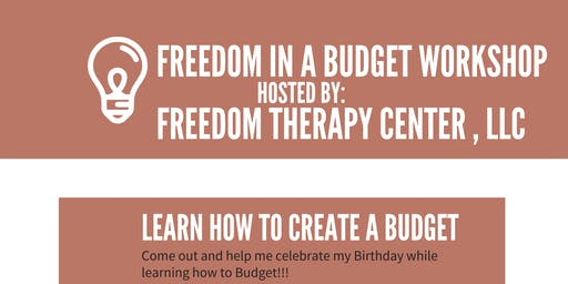 FREEDOM in a BUDGET workshop 2