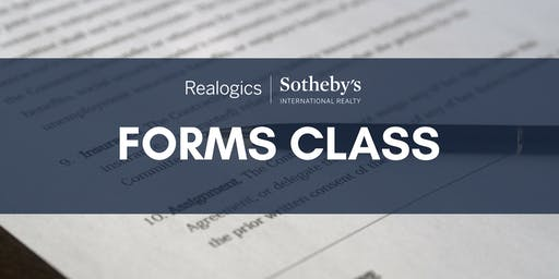 Forms Class: Listings (Part 2) at RSIR Seattle