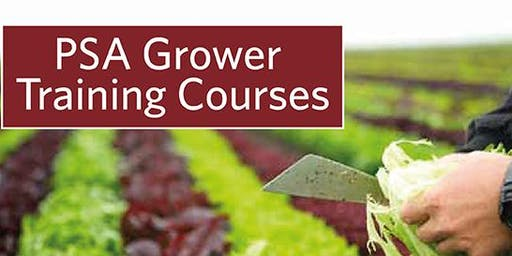 Produce Safety Alliance  Produce Safety Rule Grower Training  Maricopa , AZ