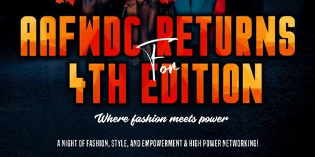 AFRICAN ARTS & FASHION WEEK DC SHOWCASE tickets