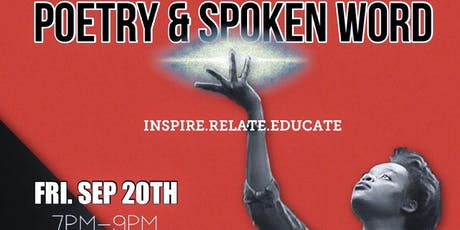 Poetry & Spoken Word (Sept 20th) tickets