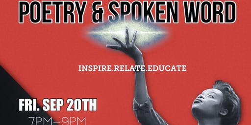Poetry & Spoken Word (Sept 20th)