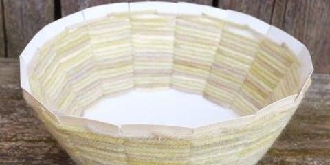 Creative Family Workshop: Woven Yarn Baskets