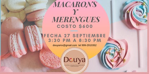 MACARONS Y MERENGUE POP