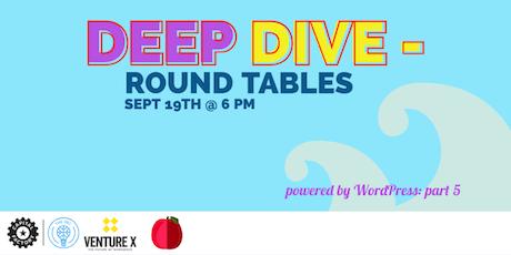 Powered by WordPress: Deep Dive tickets