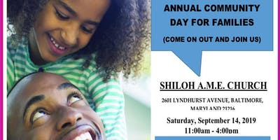 Annual Community Day for Families