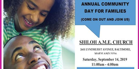 Annual Community Day for Families tickets