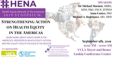 HENA 2019 Symposium: Strengthening Action on Health Equity in the Americas