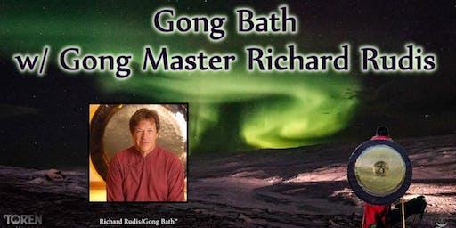 Gong Bath w/ Gong Master Richard Rudis