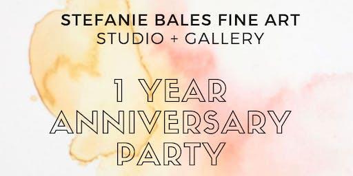 Stefanie Bales Fine Art's 1 Year Anniversary Celebration
