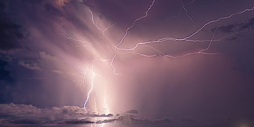 Life is Like a Flash of Lightning