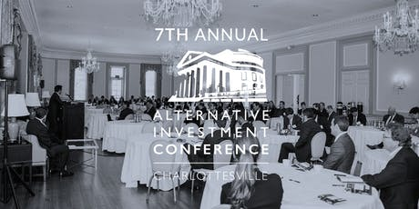 7th Annual Alternative Investment Conference - Charlottesville tickets