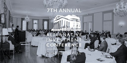 7th Annual Alternative Investment Conference - Charlottesville