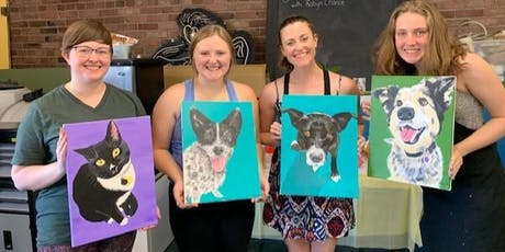 Paint Your Pet Portrait tickets
