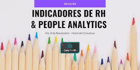 Curso Indicadores de RH y People Analytics - Neuquén entradas