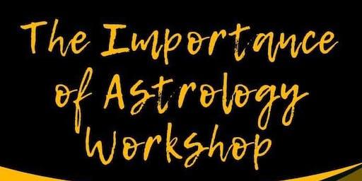 Importance of Astrology workshop