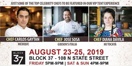 Saborea Chicago's Latino Gourmet Food & Spirit Fes tickets