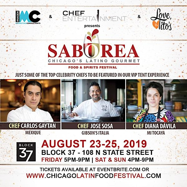 Saborea Chicago's Latino Gourmet Food & Spirit Fes image