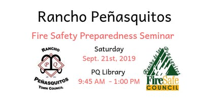 Rancho Peñasquitos Fire Safety Preparedness Seminar