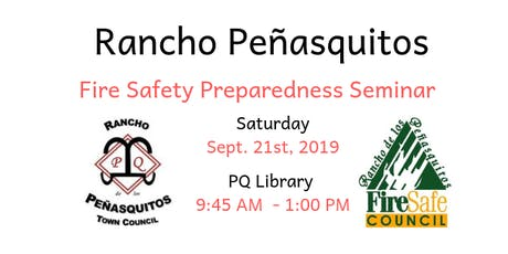 Rancho Peñasquitos Fire Safety Preparedness Seminar tickets