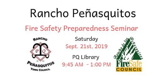 Rancho Peñasquitos Fire Safety Preparedness Seminar