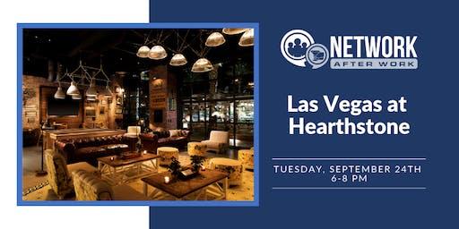 Network After Work Las Vegas at Hearthstone Kitchen & Cellar