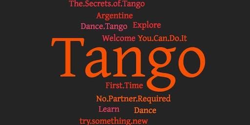 Beginner's Argentine Tango Lessons (4-weeks)