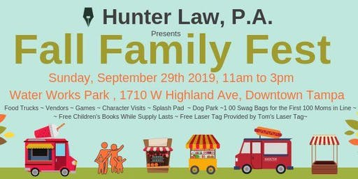 Fall Family Fest 2019 presented by Hunter Law