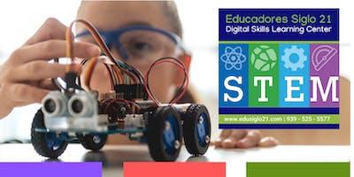 Matricula STEM Clubs (Sábados - San Juan) EduSiglo21