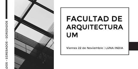 Universidad de Mendoza, Facultad de Arquitectura entradas