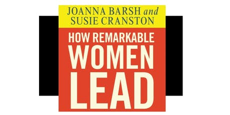 Lean In - How Remarkable Women Lead tickets