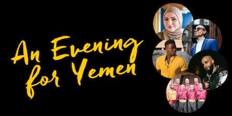 An Evening for Yemen tickets