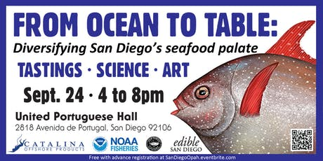From Ocean to Table: San Diego Seafood tickets