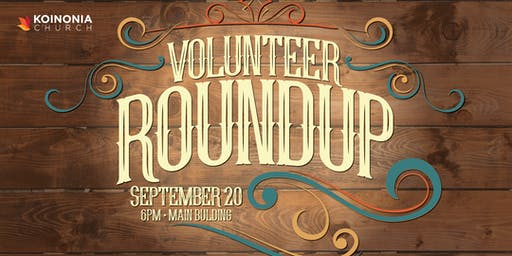 Volunteer Appreciation Round Up