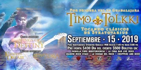 Timo tolkki en Guadalajara entradas
