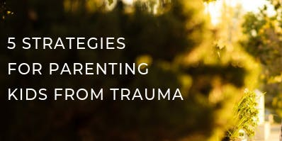 Area 9: 5 Strategies for Parenting Kids From Trauma
