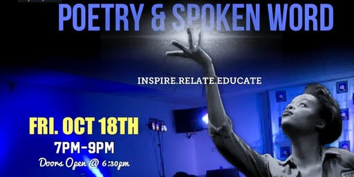 Poetry & Spoken Word (Oct 18th)