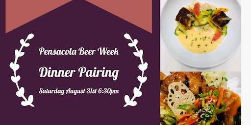 Pensacola Beer Week Dinner Pairing w/ Gary's Brewery & Arepas Latin Cuisine