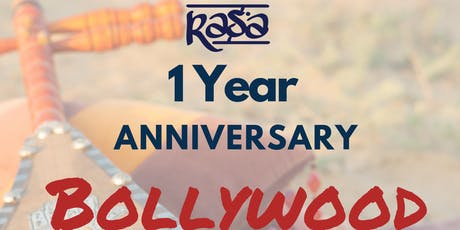Bollywood Live Music Show - Rasa's 1 Year Anniversary tickets