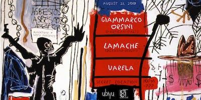 BlackTone + Ubiyu present: Giammarco Orsini & Lamache