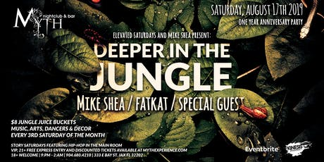 """""""Deeper In The Jungle"""" by Elevate at Myth Terrace 
