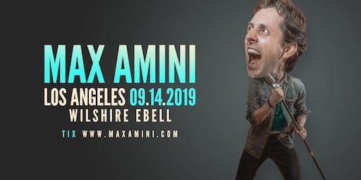 Max Amini Live in Los Angeles