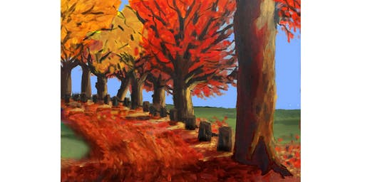 PNW Fall Time Paint & Sip Night - Art Painting, Drink & Food