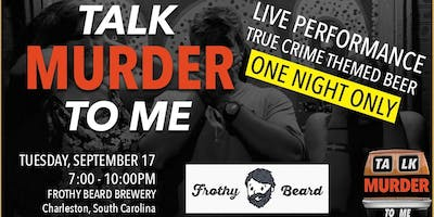 Talk Murder To Me Live: Charleston