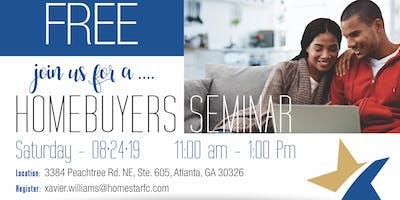 FREE Homebuyers Seminar ATLANTA