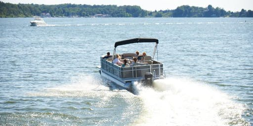 Hot Springs and Boat Party Weekend on Clear Lake