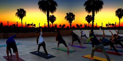 YOGA on the ROOF with an Ocean View