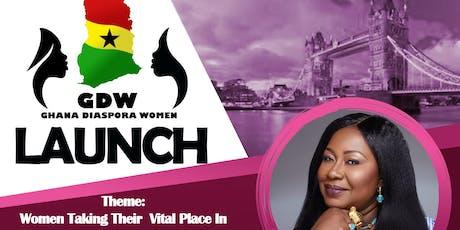 Ghana Diaspora Women LAUNCH tickets
